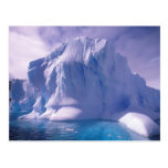 La Antártida. Icescapes antárticos Tarjeta Postal