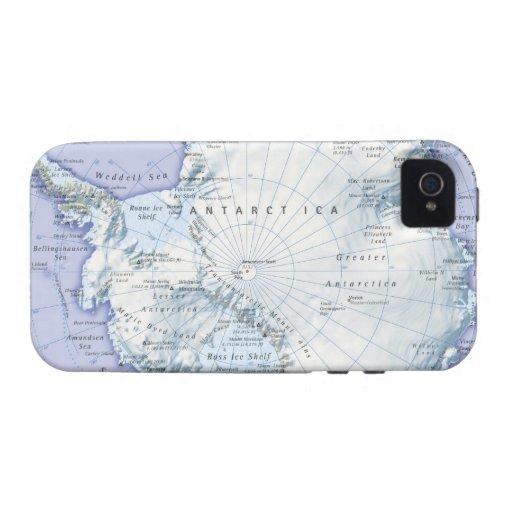 La Antártida iPhone 4 Carcasa