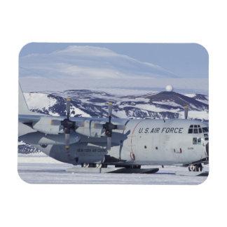 La Antártida, isla de Ross, estación de McMurdo, C Imán Foto Rectangular