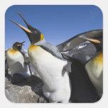 La Antártida, isla del sur de Georgia (Reino Unido Colcomanias Cuadradass