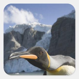 La Antártida, isla del sur Reino Unido de Calcomanía Cuadradas Personalizada