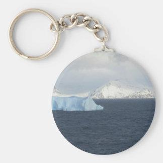 La Antártida Llavero Redondo Tipo Pin