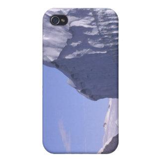 La Antártida, península antártica. Zodiak y iPhone 4/4S Carcasa