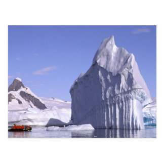 La Antártida península antártica Zodiak y Postales