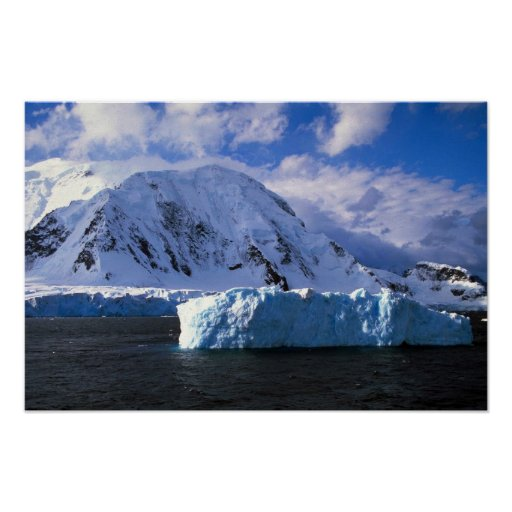 La Antártida Poster