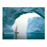 La Antártida que cruza Tarjeta Postal