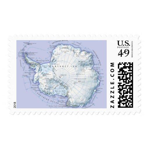 La Antártida Franqueo