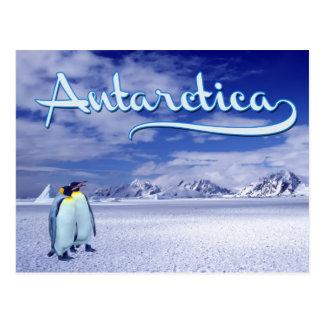 La Antártida Postales