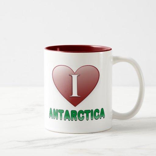 La Antártida Tazas De Café
