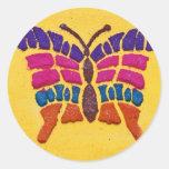 La Antigua 10 de Alfombras de Etiqueta Redonda