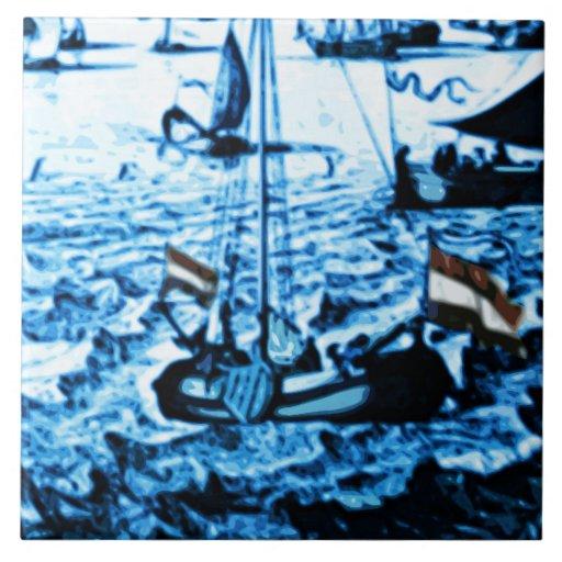 La antigüedad de Amsterdam envía la apariencia Azulejos Cerámicos