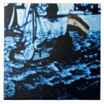 La antigüedad de Amsterdam envía la apariencia Azulejos