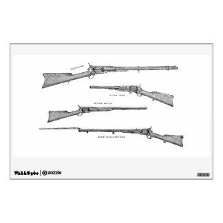 La antigüedad de la escopeta de los 1800s del vint vinilo