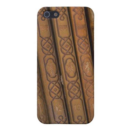 La antigüedad reserva el caso del iPhone 4 iPhone 5 Funda