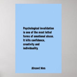 La anulación psicológica es una la mayoría… póster