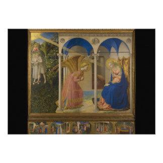 La Anunciación por Fra Beato Angelico Anuncio Personalizado