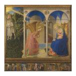 La Anunciación por Fra Beato Angelico Impresión En Lona Estirada