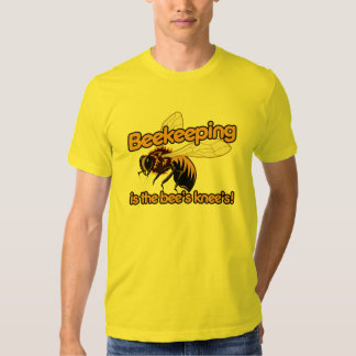 La apicultura es las rodillas de las abejas playera