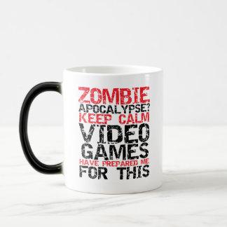 La apocalipsis del zombi guarda la taza divertida