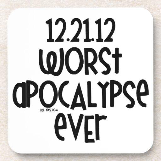La apocalipsis peor nunca posavaso