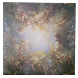 La apoteosis de Hércules, del techo del Th Azulejo Cuadrado Grande