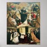 La apoteosis de St Thomas Aquinas, 1631 Impresiones