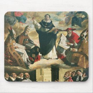 La apoteosis de St Thomas Aquinas, 1631 Tapetes De Raton