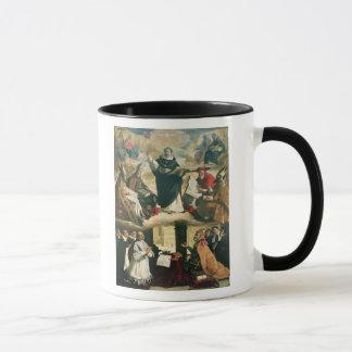 La apoteosis de St Thomas Aquinas, 1631 Taza
