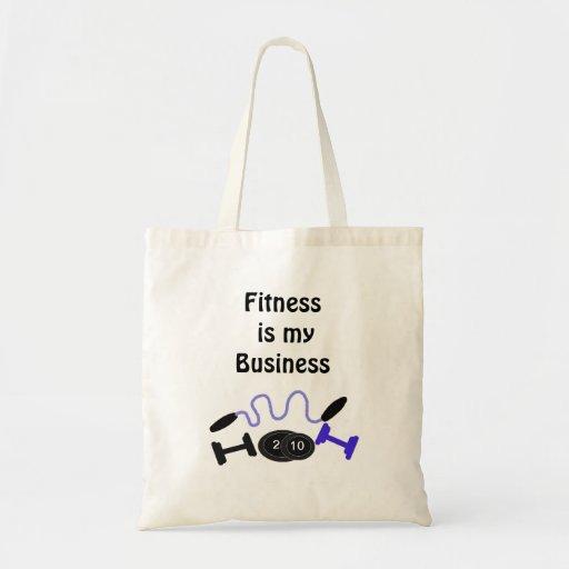 La aptitud es mi negocio bolsas
