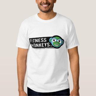 la aptitud monkeys la camiseta para hombre poleras