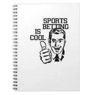 ¡La apuesta de los deportes es fresca!!  Productos Libreta