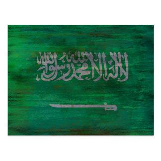 La Arabia Saudita apenó la bandera de Arabia Postales