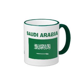 La Arabia Saudita * bandera MugThis del SA Taza A Dos Colores