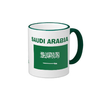 La Arabia Saudita * bandera MugThis del SA Taza De Dos Colores