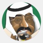 La Arabia Saudita Pegatina