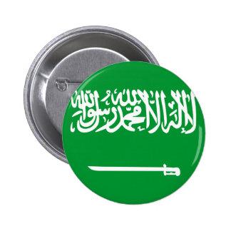 La Arabia Saudita Pin Redondo De 2 Pulgadas
