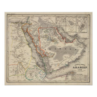 La Arabia Saudita Póster