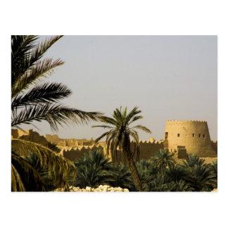 La Arabia Saudita, Riyad, ciudad vieja del Tarjetas Postales