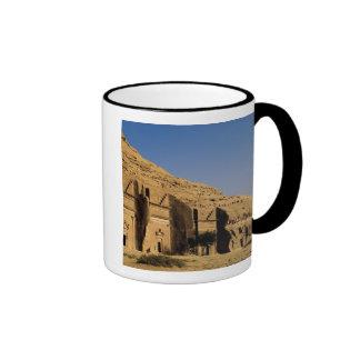 La Arabia Saudita, sitio de Madain Saleh, 2 antigu Tazas