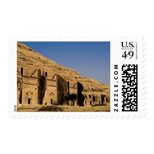 La Arabia Saudita, sitio de Madain Saleh, 2 Franqueo