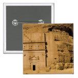 La Arabia Saudita, sitio de Madain Saleh, 3 antigu Pin Cuadrada 5 Cm