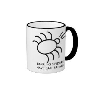 la araña del descortezamiento, ARAÑAS del DESCORTE Tazas De Café