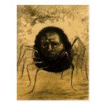 La araña gritadora postal