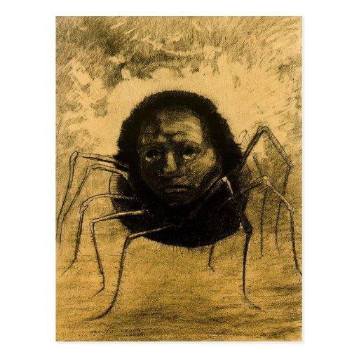 La araña gritadora postales