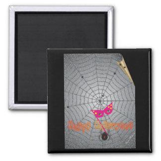 La araña - Halloween - modificada para requisitos  Imán De Frigorifico