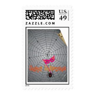La araña - Halloween Sello