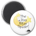 La araña itsy de Bitsy Imanes
