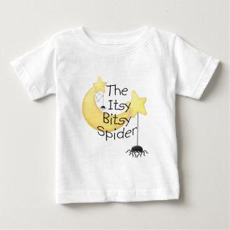 La araña itsy de Bitsy Playera De Bebé