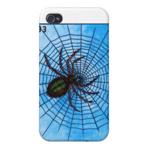 La Arana la araña iPhone 4/4S Carcasas