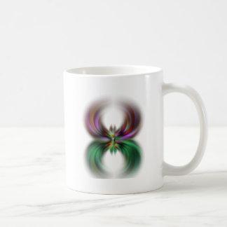 La araña taza de café